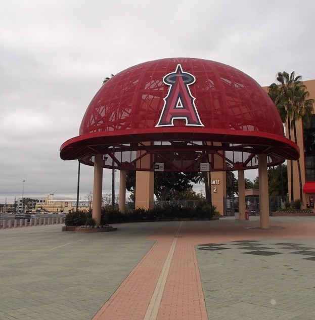 Angel Stadium Front Entrance